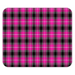 Cell Background Pink Surface Double Sided Flano Blanket (small)