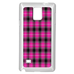Cell Background Pink Surface Samsung Galaxy Note 4 Case (white) by Simbadda