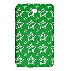 Green White Star Line Space Samsung Galaxy Tab 3 (7 ) P3200 Hardshell Case  by Alisyart