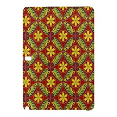 Abstract Yellow Red Frame Flower Floral Samsung Galaxy Tab Pro 12 2 Hardshell Case
