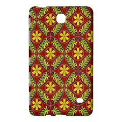 Abstract Yellow Red Frame Flower Floral Samsung Galaxy Tab 4 (8 ) Hardshell Case  by Alisyart
