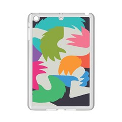 Hand Rainbow Blue Green Pink Purple Orange Monster Ipad Mini 2 Enamel Coated Cases