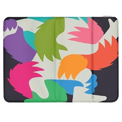 Hand Rainbow Blue Green Pink Purple Orange Monster Samsung Galaxy Tab 7  P1000 Flip Case by Alisyart
