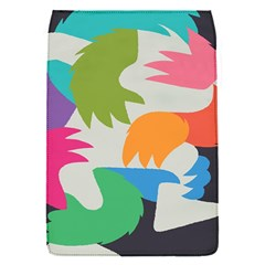 Hand Rainbow Blue Green Pink Purple Orange Monster Flap Covers (s)  by Alisyart