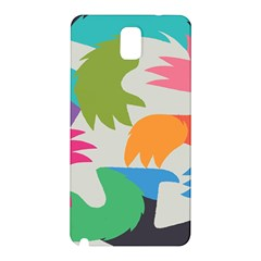 Hand Rainbow Blue Green Pink Purple Orange Monster Samsung Galaxy Note 3 N9005 Hardshell Back Case by Alisyart