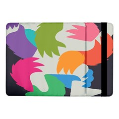 Hand Rainbow Blue Green Pink Purple Orange Monster Samsung Galaxy Tab Pro 10 1  Flip Case by Alisyart