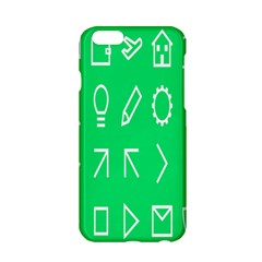 Icon Sign Green White Apple Iphone 6/6s Hardshell Case