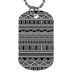 Myria Wrapping Paper Black Dog Tag (one Side)
