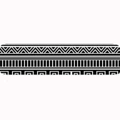 Myria Wrapping Paper Black Large Bar Mats by Alisyart