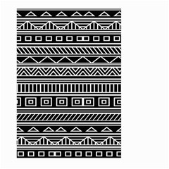 Myria Wrapping Paper Black Large Garden Flag (two Sides) by Alisyart