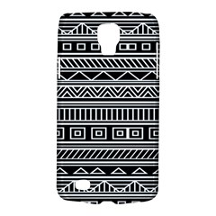 Myria Wrapping Paper Black Galaxy S4 Active