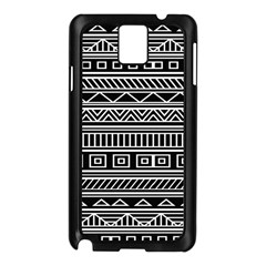 Myria Wrapping Paper Black Samsung Galaxy Note 3 N9005 Case (black)