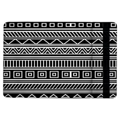 Myria Wrapping Paper Black Ipad Air Flip by Alisyart