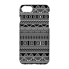 Myria Wrapping Paper Black Apple Iphone 7 Hardshell Case