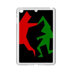 Ninja Graphics Red Green Black Ipad Mini 2 Enamel Coated Cases