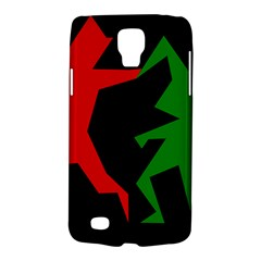 Ninja Graphics Red Green Black Galaxy S4 Active