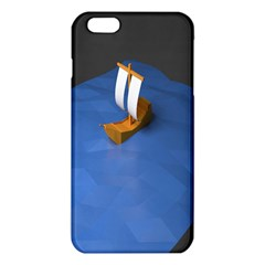Low Poly Boat Ship Sea Beach Blue Iphone 6 Plus/6s Plus Tpu Case by Alisyart