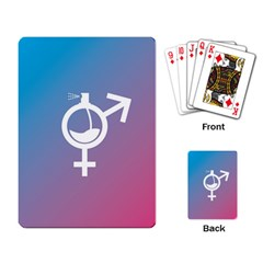 Perfume Graphic Man Women Purple Pink Sign Spray Playing Card