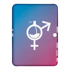 Perfume Graphic Man Women Purple Pink Sign Spray Samsung Galaxy Tab 4 (10 1 ) Hardshell Case