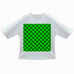 Plaid Flag Green Infant/toddler T-shirts by Alisyart