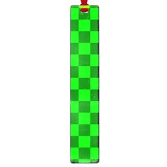 Plaid Flag Green Large Book Marks