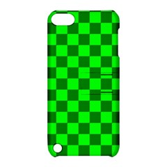 Plaid Flag Green Apple Ipod Touch 5 Hardshell Case With Stand by Alisyart