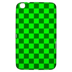 Plaid Flag Green Samsung Galaxy Tab 3 (8 ) T3100 Hardshell Case  by Alisyart