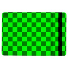 Plaid Flag Green Ipad Air 2 Flip by Alisyart