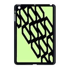 Polygon Abstract Shape Black Green Apple Ipad Mini Case (black) by Alisyart