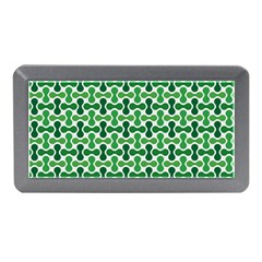 Green White Wave Memory Card Reader (mini) by Alisyart