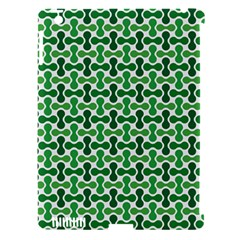 Green White Wave Apple Ipad 3/4 Hardshell Case (compatible With Smart Cover) by Alisyart