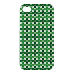 Green White Wave Apple Iphone 4/4s Premium Hardshell Case