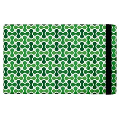 Green White Wave Apple Ipad 3/4 Flip Case by Alisyart