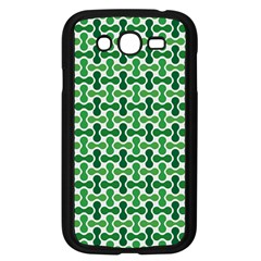 Green White Wave Samsung Galaxy Grand Duos I9082 Case (black) by Alisyart