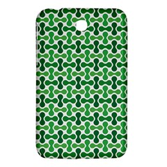 Green White Wave Samsung Galaxy Tab 3 (7 ) P3200 Hardshell Case  by Alisyart