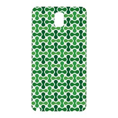 Green White Wave Samsung Galaxy Note 3 N9005 Hardshell Back Case by Alisyart