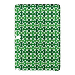 Green White Wave Samsung Galaxy Tab Pro 12 2 Hardshell Case