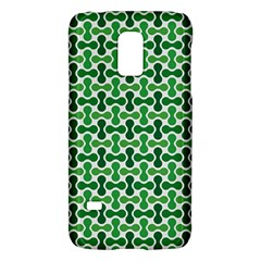Green White Wave Galaxy S5 Mini by Alisyart