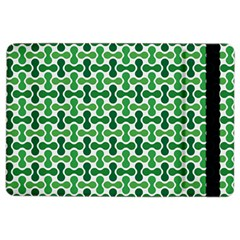Green White Wave Ipad Air 2 Flip by Alisyart