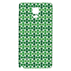 Green White Wave Galaxy Note 4 Back Case