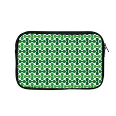 Green White Wave Apple Macbook Pro 13  Zipper Case
