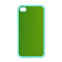Green Wave Waves Line Apple Iphone 4 Case (color) by Alisyart