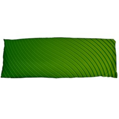 Green Wave Waves Line Body Pillow Case (dakimakura) by Alisyart