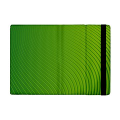 Green Wave Waves Line Apple Ipad Mini Flip Case