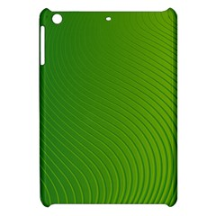 Green Wave Waves Line Apple Ipad Mini Hardshell Case by Alisyart