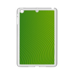 Green Wave Waves Line Ipad Mini 2 Enamel Coated Cases