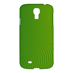 Green Wave Waves Line Samsung Galaxy S4 I9500/i9505 Hardshell Case by Alisyart