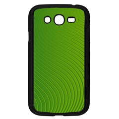 Green Wave Waves Line Samsung Galaxy Grand Duos I9082 Case (black) by Alisyart
