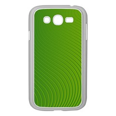 Green Wave Waves Line Samsung Galaxy Grand Duos I9082 Case (white) by Alisyart