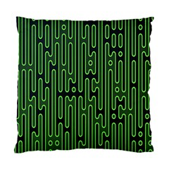 Pipes Green Light Circle Standard Cushion Case (one Side) by Alisyart